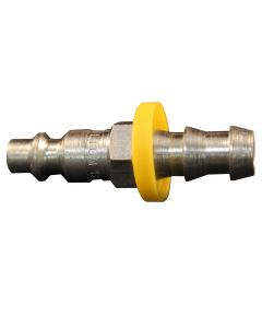 "3/8"" Hose Barb M Style Push On and Lock Plug"