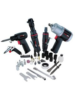 EXELAIR™ by Milton 50-PC Composite Professional High Torque Automotive Air Tools & Accessory Kit