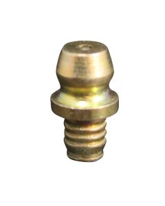 """3/16"""" Drill Hole Straight Drive Fit Grease Fitting"""