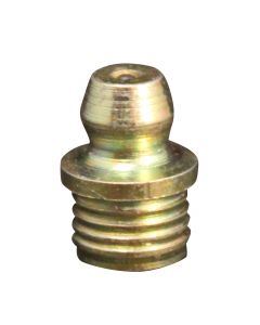 """5/16"""" Drill Hole Straight Drive Fit Grease Fitting"""