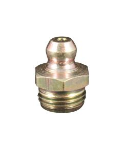 Metric M10 x 1 Straight Grease Fitting