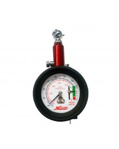 Dial Tire Pressure Gauge - Single Head Tire Tread Depth Gauge