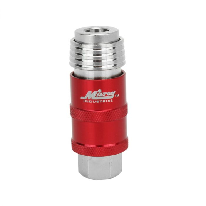 Pressure Reducer Micro 1//4 Quick Coupling Compressed Air NEW