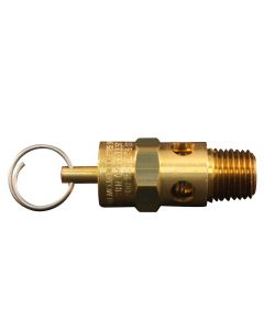 "1/4"" MNPT ASME Safety Valve - 200 PSI Pop off Pressure"