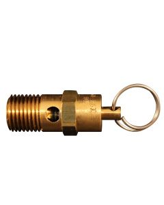 "1/4"" MNPT Non Coded Safety Relief Valve"