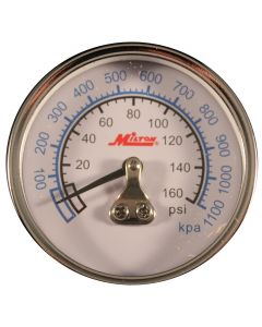 "1/4"" NPT Mini High Pressure Gauge"