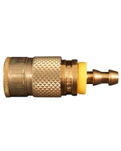 Hose Barb T Style Push On and Lock Coupler
