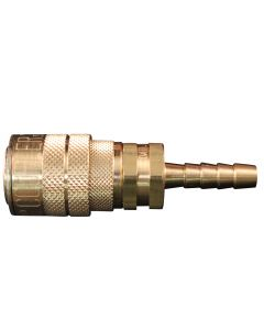 "1/4"" Hose Barb M Style Coupler"