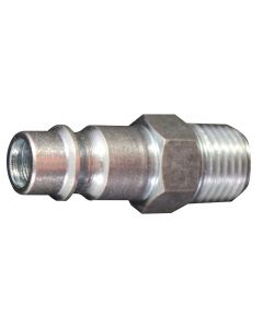 "1/4"" MNPT V Style High Flow Steel Plug"