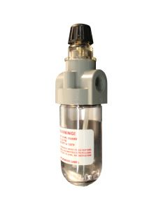 "1/4"" NPT Polycarbonate Mini Lubricator"
