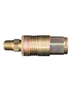 "1/4"" NPT P Style Coupler and Plug"