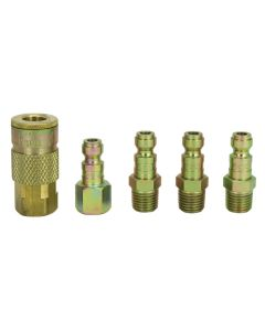 "1/4"" NPT T Style Coupler and Plug Kit"