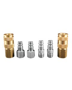 "1/4"" NPT V Style Coupler and Plug Kit"