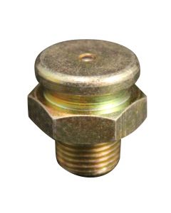 """1/8"""" - 27 Pipe Thread Button Head Grease Fitting"""