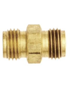 "1/4"" NPS Hex Nipple Hose Fitting"