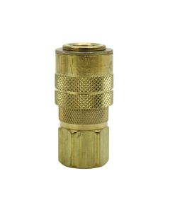 "1/4"" NPT M Style Coupler with Drag Guard"