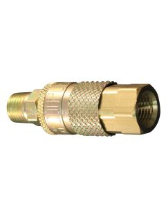 "1/4"" NPT T Style Coupler and Plug"